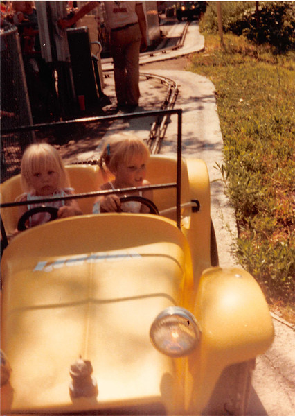 July 1981<br /> Logoon amusement park, UT<br /> Teresa (almost 2 1/2) & Christy Tate