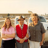 Feb. 26, 1981<br /> Phoenix, AZ<br /> Vickie, Grandpa Farnsworth, Mom M. at airport