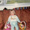 Easter Sunday<br /> April 1981<br /> Teresa showing us her loot.