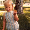 June 1981<br /> Liberty Park, Salt Lake City, UT<br /> Teresa eating her cookie.