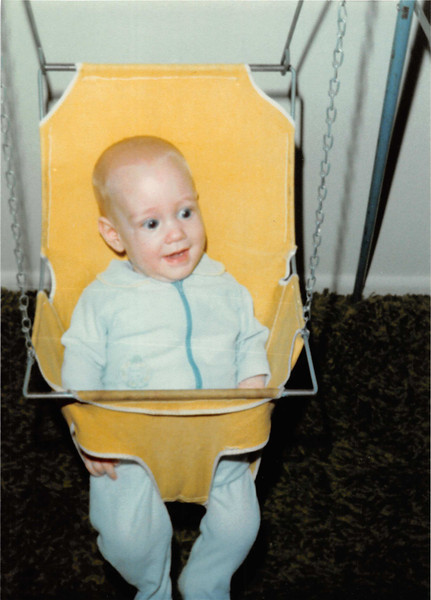 March 1981<br /> 1484 S. 400 E. Orem, UT<br /> Craig (3 1/2 months old).