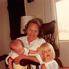 July 1981<br /> 1484 S. 400 E., Orem, UT<br /> Craig (7 1/2 months), Mom M., & Teresa (almost 2 1/2 yrs.)