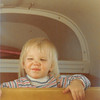 Feb. 26, 1981<br /> Phoenix, AZ<br /> Teresa in the back of Grandpa M's airplane on her birthday.
