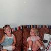 July 1981<br /> 1484 S. 400 E., Orem, UT<br /> Misty (Beardal--neighbor friend)  & Teresa