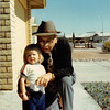 Feb. 1981<br /> Phoenix, AZ<br /> Teresa & grandpa Farnsworth