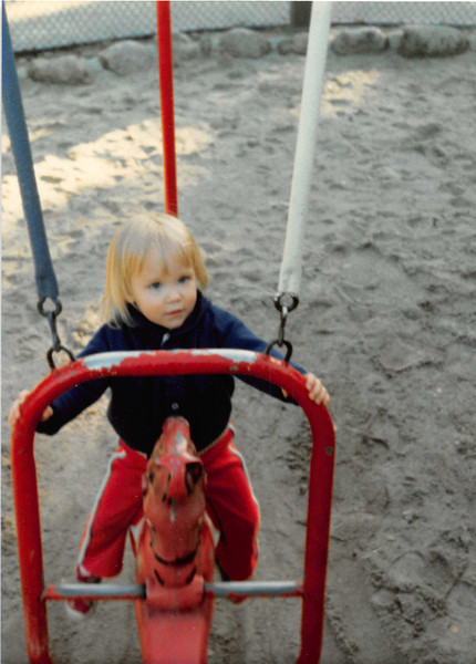 March 1981<br /> Shoup Park, Los Altos, CA<br /> Teresa (2 years old)