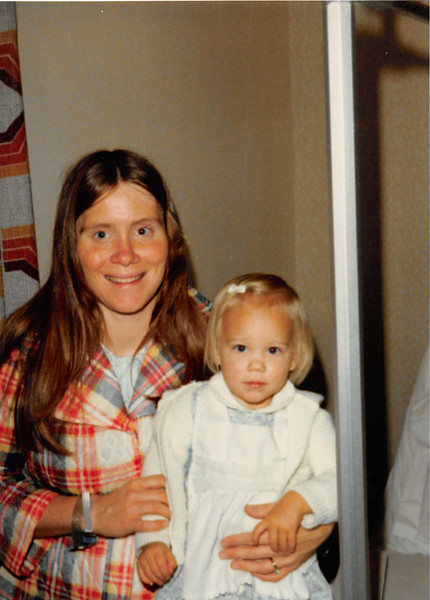Nov. 23, 1980<br /> Utah Valley Hospital<br /> Provo, UT<br /> Vickie and Teresa on the day of Craig's birth