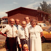 July 1981<br /> 1484 S. 400 E., Orem, UT<br /> Dad M., Jerry, Grandpa Farnsworth, Joe, Mom M., and Teresa in front.