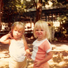 July 1981<br /> Lagoon amusement park<br /> Farnsworth reunion<br /> Christy Tate & Teresa (almost 2 1/2 yrs. old)