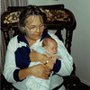 January 1981<br /> 1104 W. 680 S. Orem, UT<br /> Mom Meakin and Craig Robert (5 weeks old)