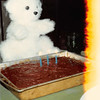 Feb. 26, 1981<br /> Phoenix, AZ at Bob's folks house<br /> Teresa's birthday cake on her 2nd birthday (an extra candle to grow on!).