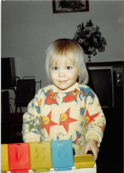 January 1981<br /> 1104 W. 680 S. Orem, UT<br /> Teresa (23 months old)