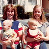 Sept. 5, 1979--Wymount Terrace, Provo, UT<br /> Vickie & Teresa, Susie & Wes Cardall
