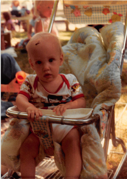 July 1981<br /> Lagoon amusement park, UT<br /> Farnsworth reunion<br /> Craig (8 months)