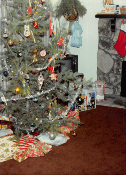 Christmas morning 1980<br /> 1104 W. 680 S. Orem, UT<br /> Our first Christmas alone.