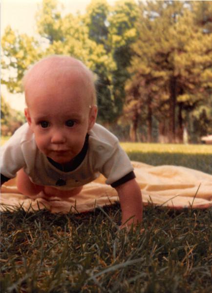 June 1981<br /> Liberty Park, Salt Lake City, UT<br /> Craig (6 months old)
