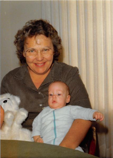 Feb. 1981<br /> Phoenix, AZ<br /> Mom Meakin and Craig (3 months)