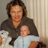Feb. 1981<br /> Phoenix, AZ<br /> Mom Meakin and Craig (3 months)