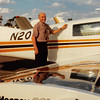 Feb. 26, 1981<br /> Phoenix, AZ<br /> Dad M. showing off his beautiful plane.
