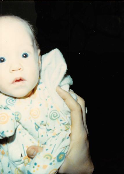 January 1981<br /> 1104 W. 680 S. Orem, UT<br /> Craig Robert (2 months old)