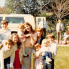 March 1981<br /> 262 Marich Way, Los Altos, CA<br /> L to R--Bob, Michael R. David R., Nathan R., Elizabeth R. Natalie S. Heather S., Jennifer S. Brynne C. Teresa & Daniel R.<br /> in background--Dick, John's brother & John