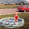 June 1981<br /> 1484 S. 400 E., Orem, UT<br /> Teresa filling up the pool.