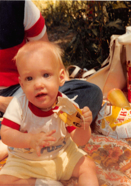 July 4, 1981<br /> up Provo canyon, UT for a picnic<br /> Craig R. Meakin (7 months old)