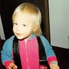 December 1980<br /> 1104 W. 680 S. Orem, UT<br /> Teresa Meakin (22 months old)