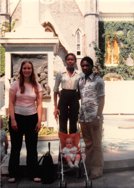 June 1981<br /> Temple Square, Salt Lake City, UT<br /> Vickie, Craig, Ann Balfour & Ozwald Balfour (a couple daddy & mommy knew on their mission in Trinidad).
