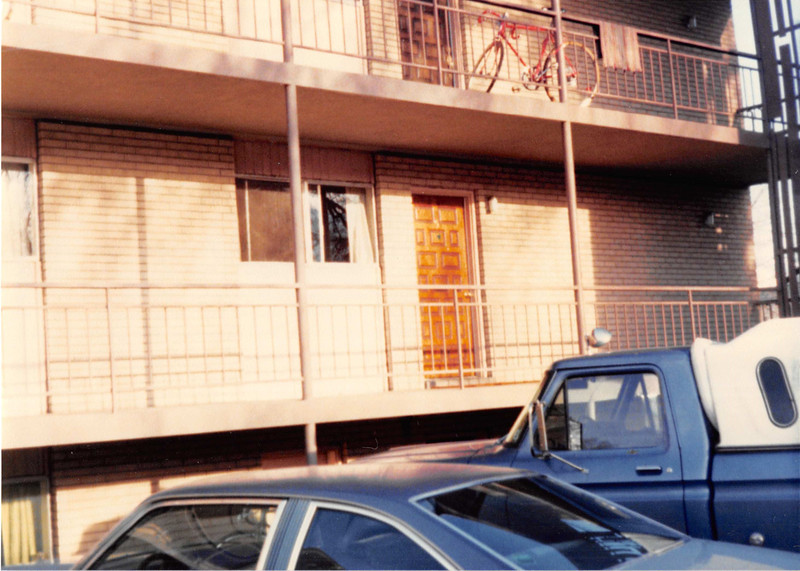Picture taken April 1981<br /> I lived here before I was married (my senior year at BYU)<br /> Sept. 1977 to April 1978--Apt. #5