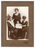 Four Generations of women all on the same side of the family.  The baby is Thelma, nee Pulver, with Rita Pulver, Leah Hyams and Sarah Green. 1923.  Elaine has the heart brooch that Leah is wearing.