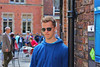 Kyle not wanting his picture taken in York.  So, of course, I had to take it!
