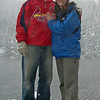 Kristen and Brad's engagement photo at Bear Lake Colorado