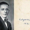 Raymond Edgar Kitchen Graduation Photo 1931
