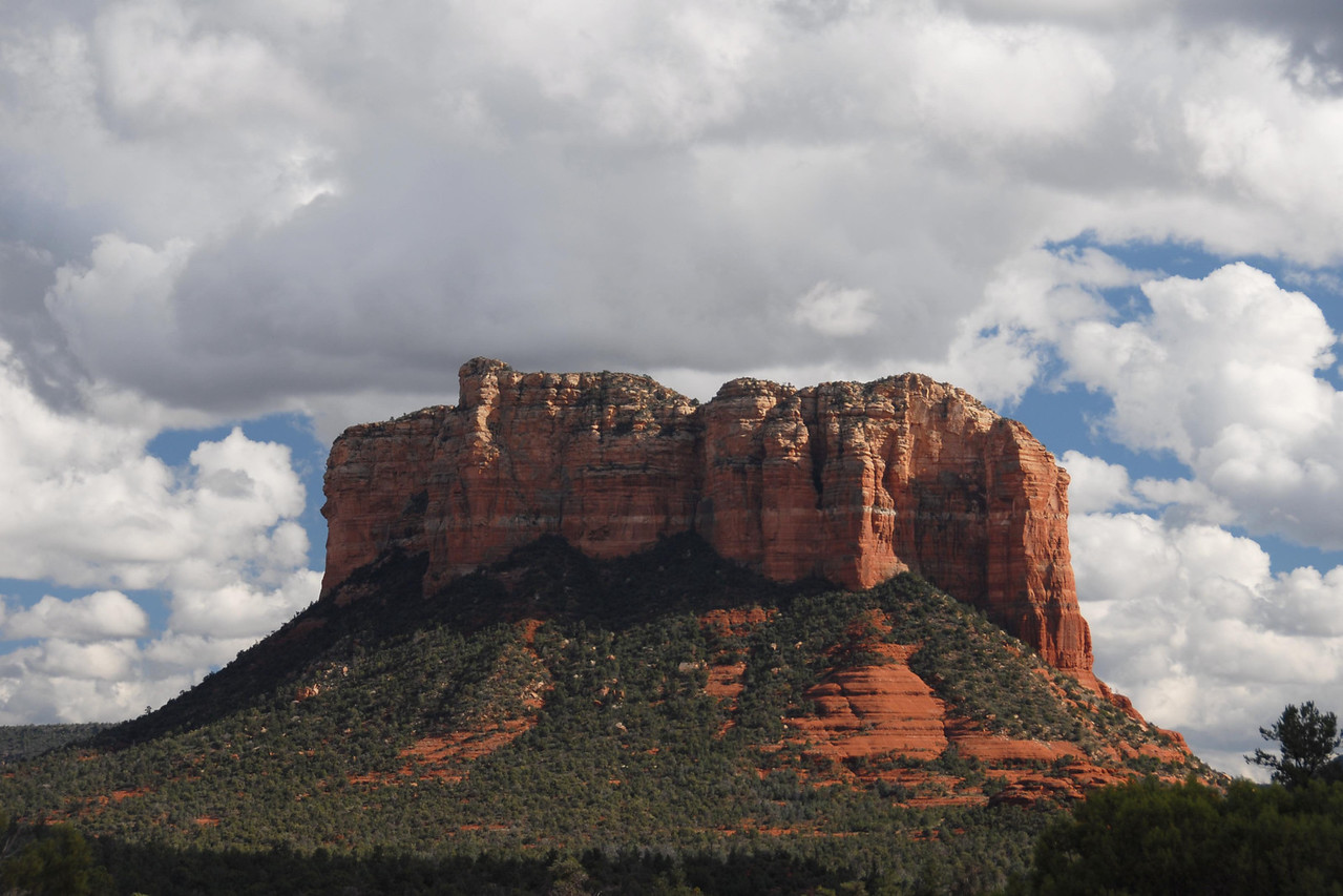 Sedona in October.