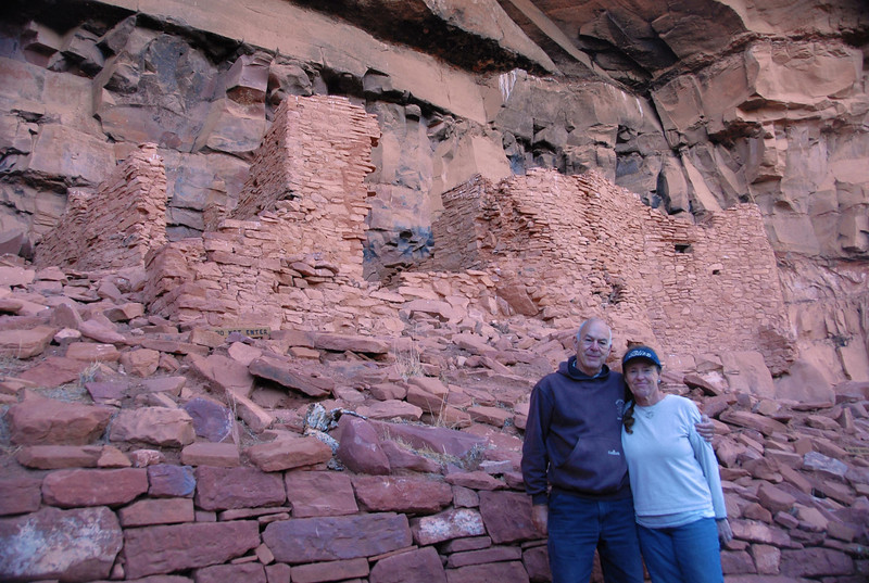 At indian ruins in Sedona.