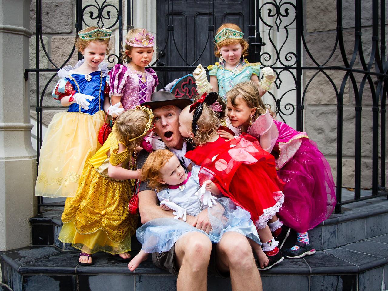 Baldy & the Princesses