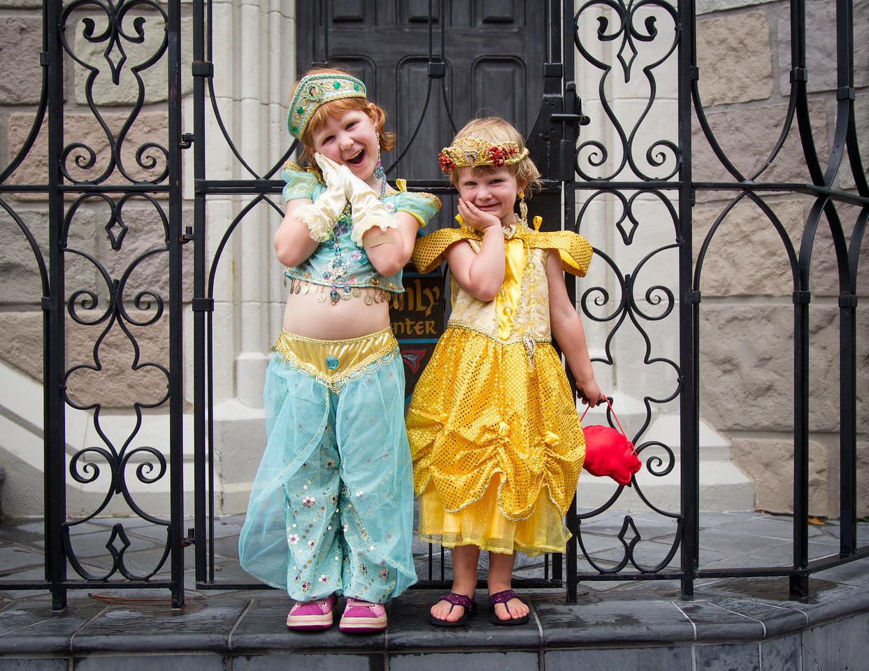 Princesses Sophie and Evie
