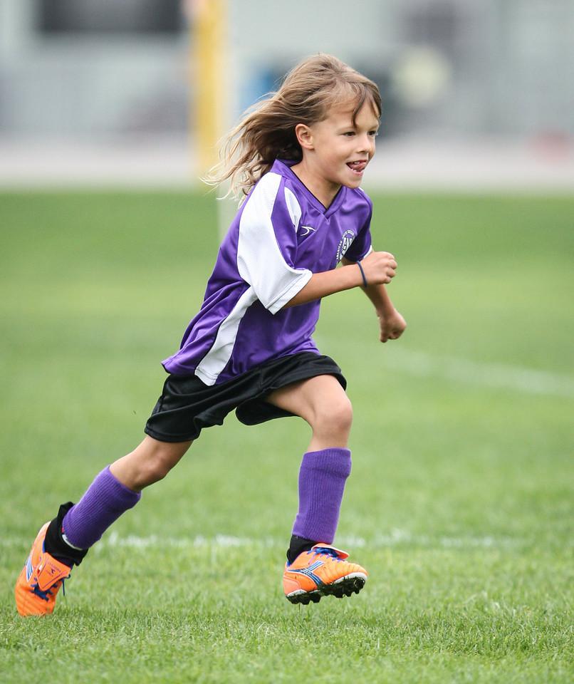 Leia soccer