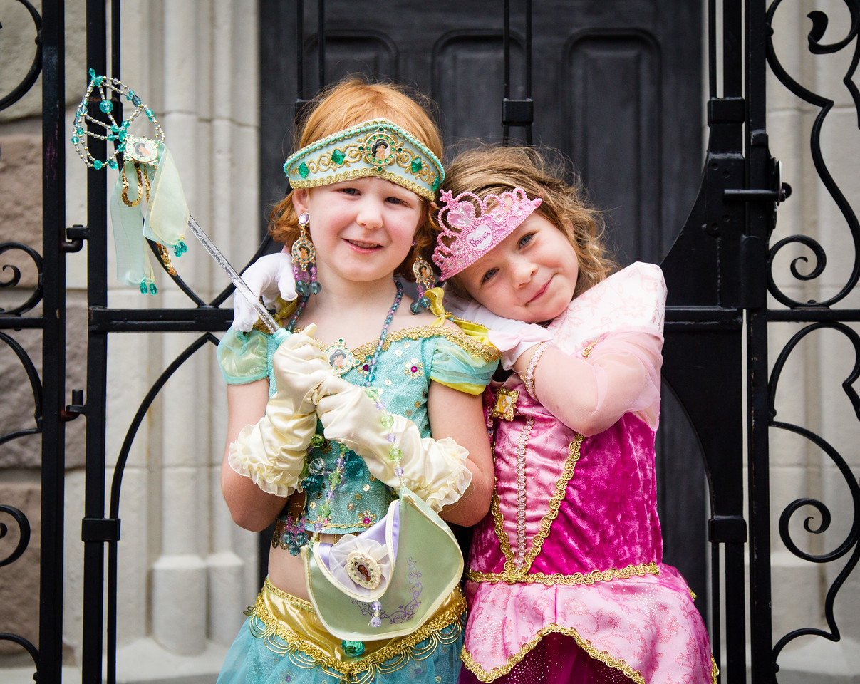 Princess sophie and princess Reese
