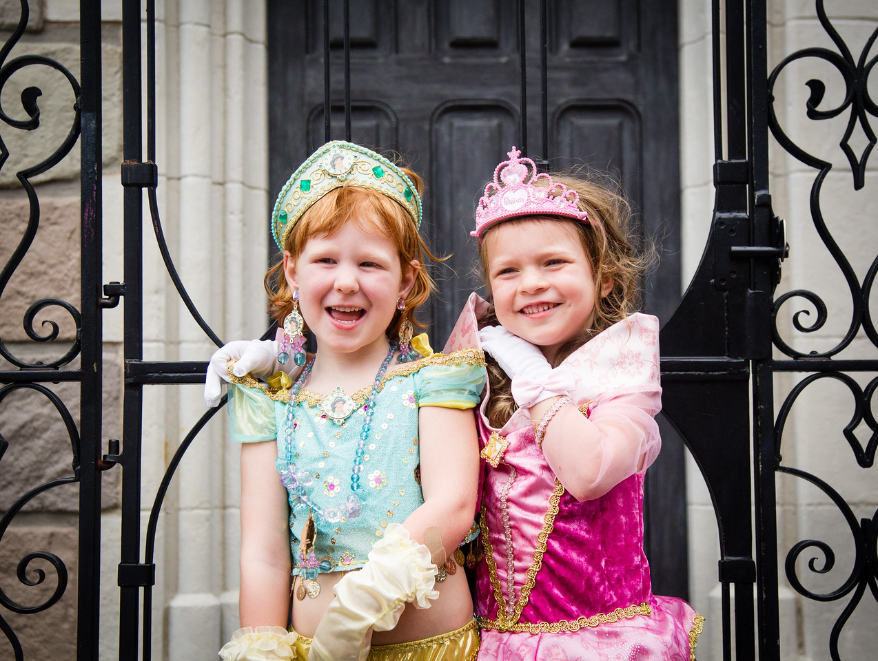 Princesses Sophie and Reese