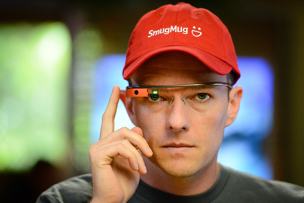 Don with Google Glass 2013