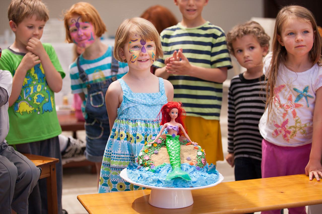 Evie's 4th birthday
