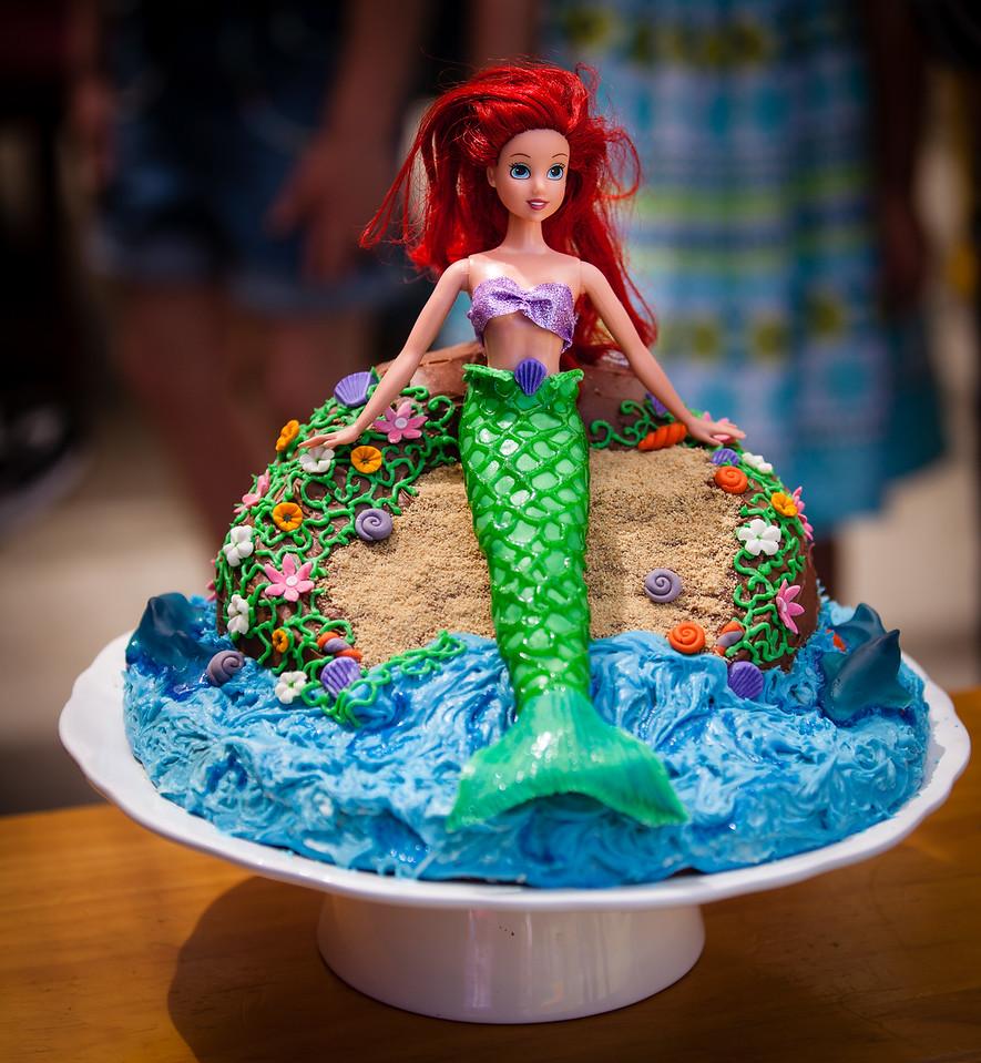 Evie's 4th birthday cake