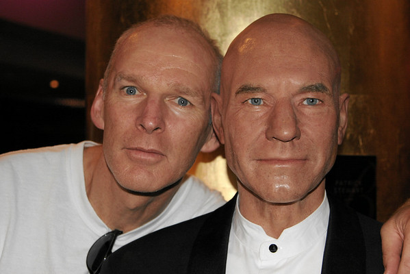 My dad and Patrick... looking eerily similar. This is at Madame Tussaud's again.