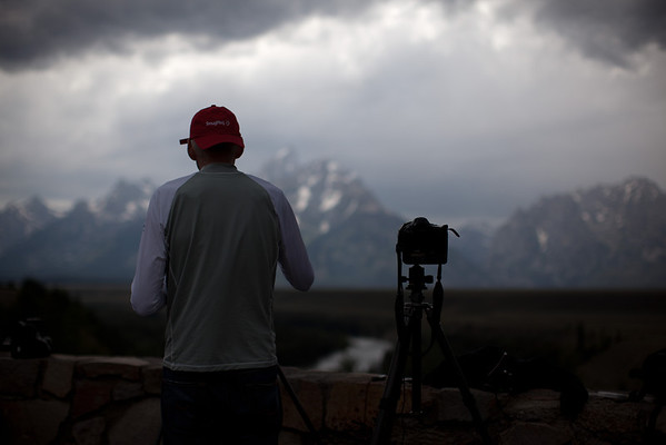 Shooting an HDR time-lapse of dramatic skies over the Tetons on the SmugMug getaway