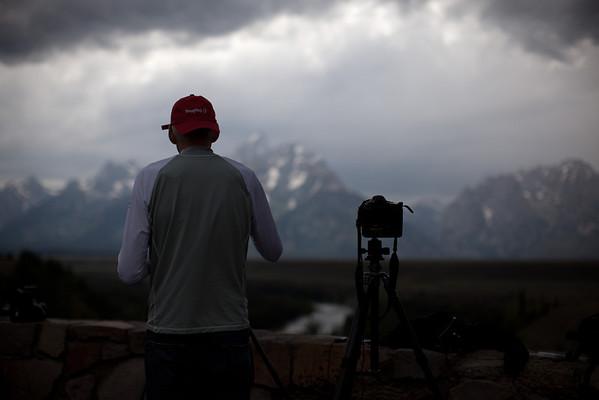 Shooting an HDR time-lapse of dramatic skies over the Tetons on the SmugMug getaway