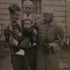 Bampa, Grandma Fisher with Dick holding Scott