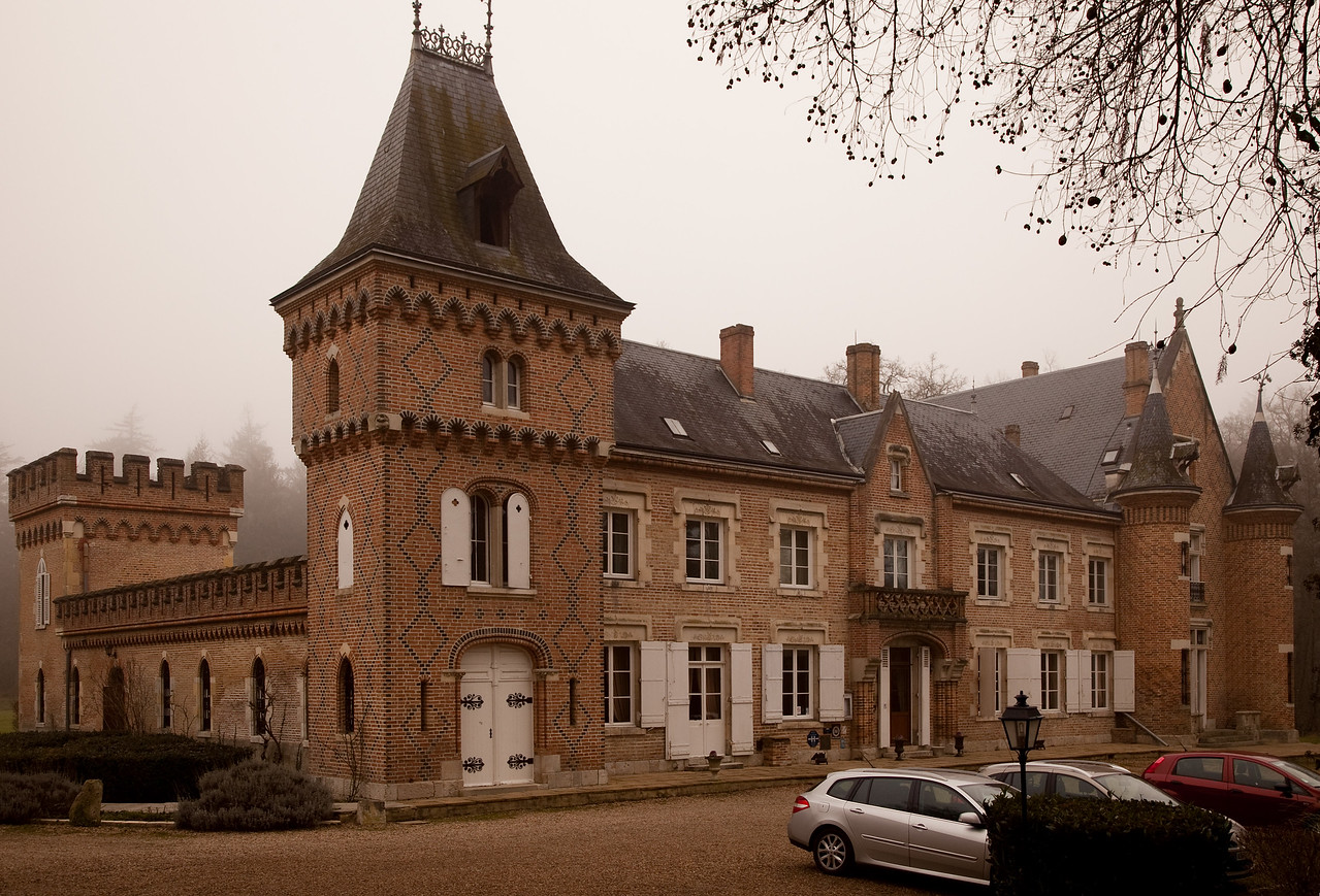 This is the chateau we spent a night in, at a cost less than the microscopic Paris hotel.