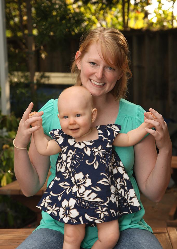Kim and Sophie, Ben & Kim's daughter